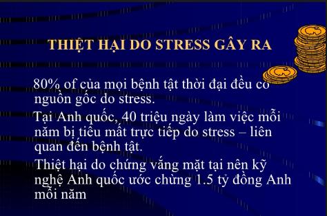 bệnh lý liên quan đến stress