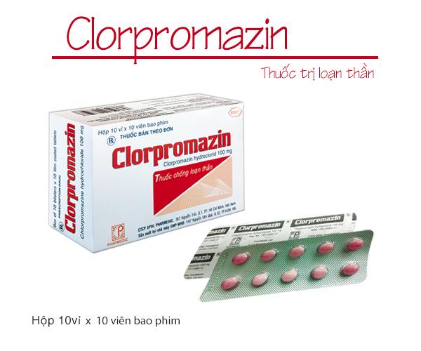 Thuốc an thần Clopromazin